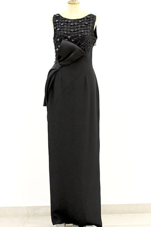 Erol Al Bayrak - Black Sleeveless Dress