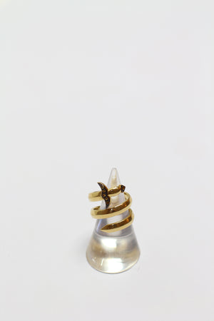 Gold Sword Ring