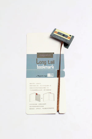 Long tail bookmark