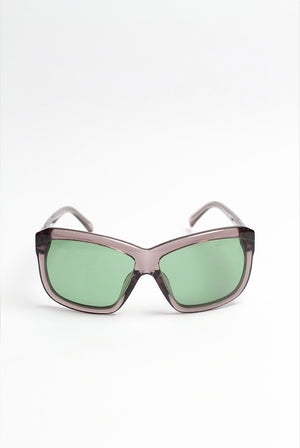 Peter Pilotto - NIGHT SKY ACETATE W/GREEN LENS SUNGLASS