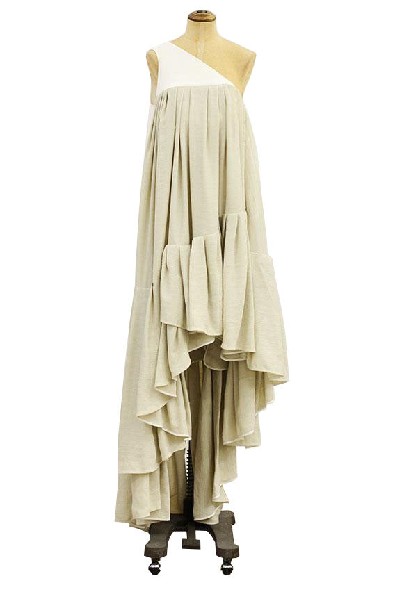 Maticevski - Rythmical linen dress
