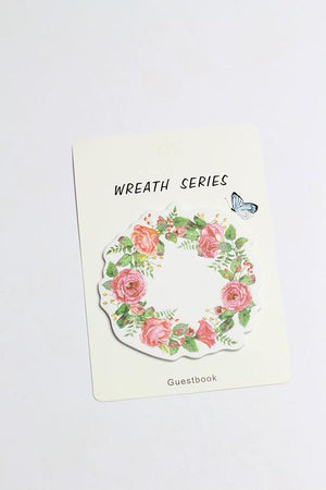 Wreath Series Stick Note