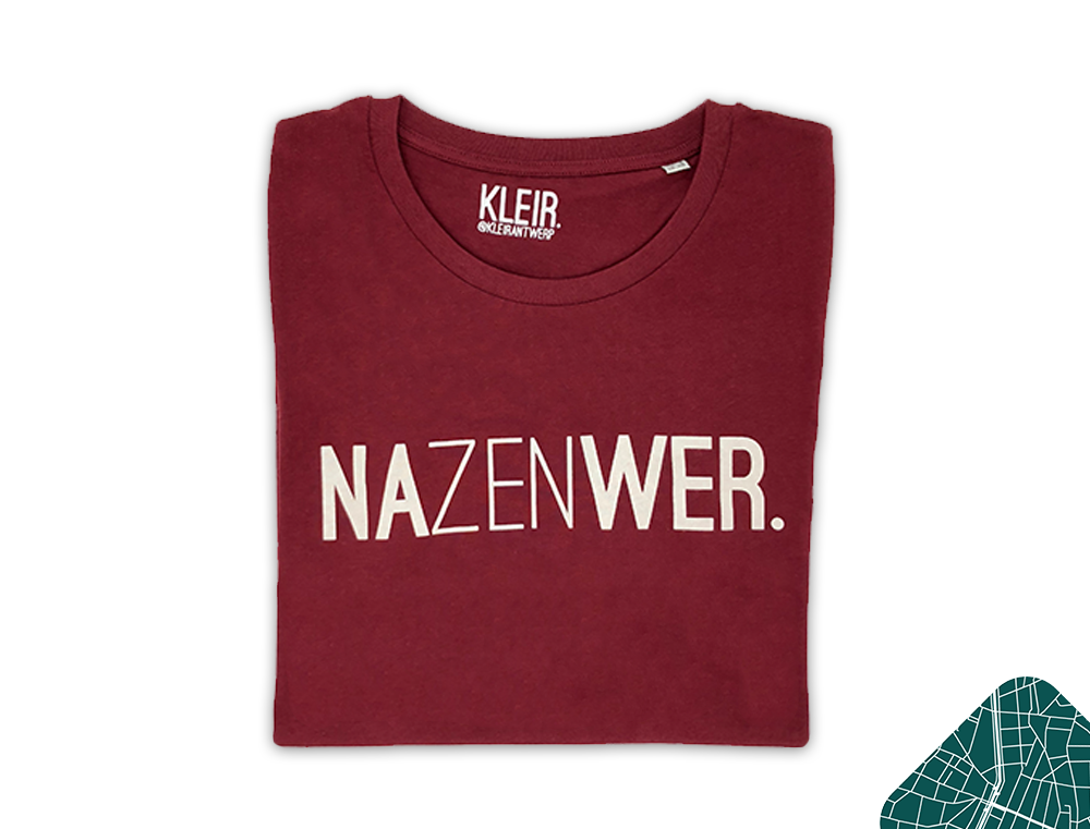 nazenwer t-shirt bordeaux