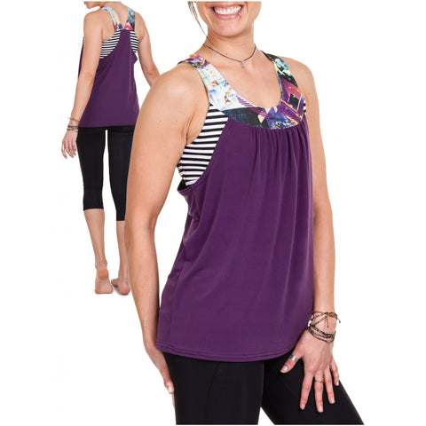 Jalie 3679 - PIKA Sport Bra and Layered Blouson Tank - Seamstress Fabrics
