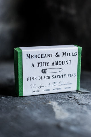 Merchant & Mills - Black Safety Pins