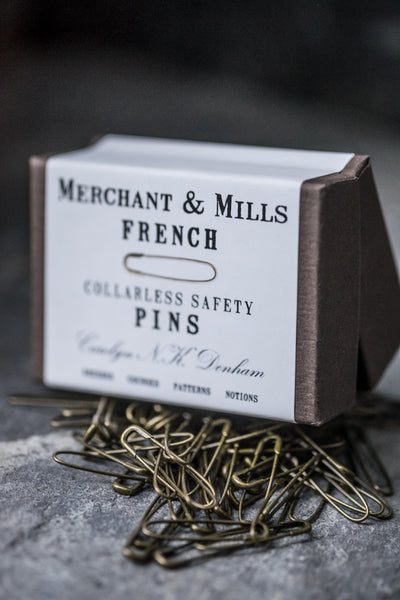Merchant & Mills - French Safety Pins - Seamstress Fabrics