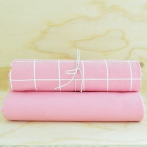 Happy Fabrics - Solid Pink Jersey
