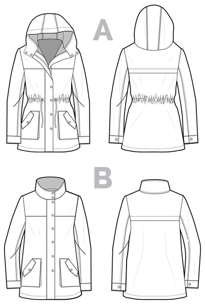Kelly Anorak Jacket Pattern