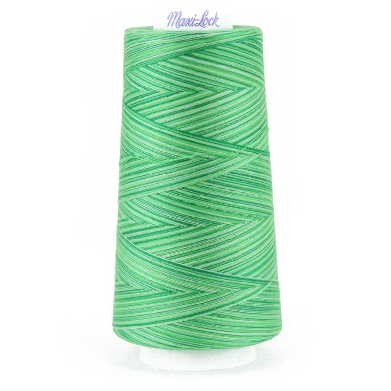 Mint Julep Swirl Variegated Thread