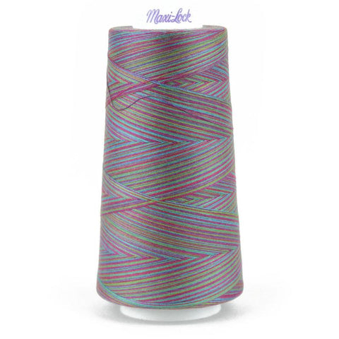 MaxiLock Swirls - tie dye Swirl Variegated Thread