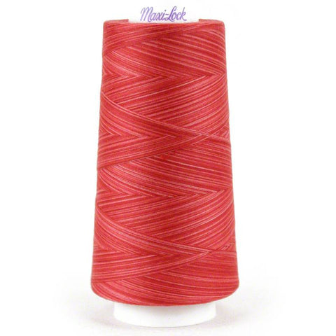 MaxiLock Swirls - Watermelon Sorbet Swirl Variegated Thread - Seamstress Fabrics