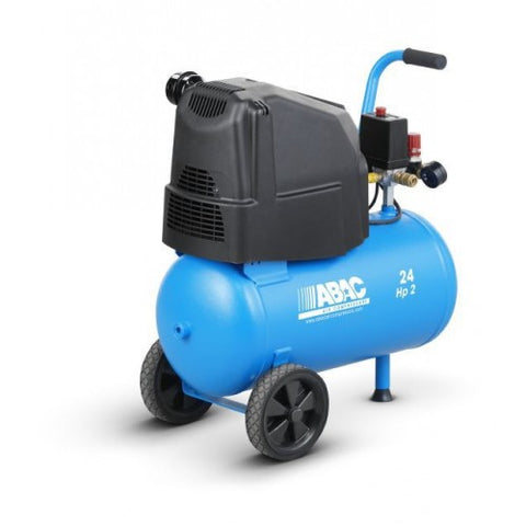 ABAC POLE POSITION O20P UK 24 litre AIR COMPRESSOR
