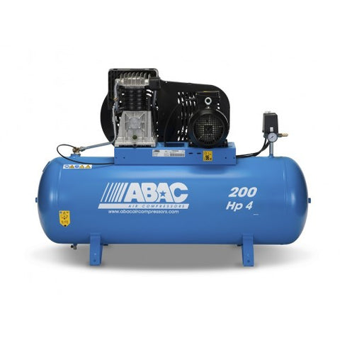 ABAC PRO B4900 200 FT4 UK AIR COMPRESSOR