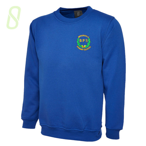Brookdale Primary Crew Neck Sweatshirt