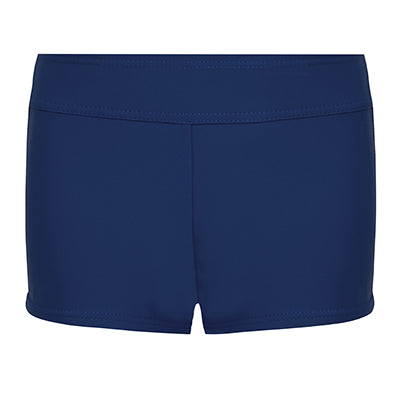 Deep-Sided Swim Trunk