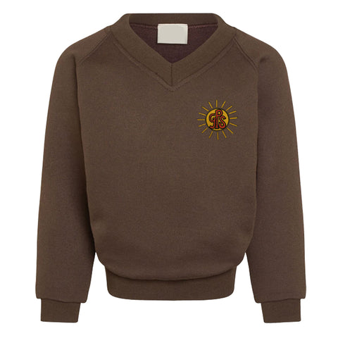 Gayton Primary V Neck Sweatshirt