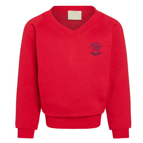 Thornton Hough Primary V Neck Sweatshirt