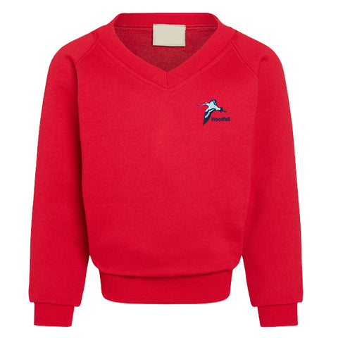 Woodfall Primary V Neck Sweatshirt