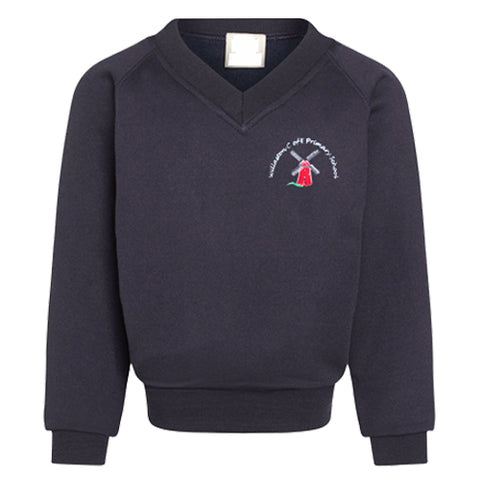 Willaston Primary V Neck Sweatshirt
