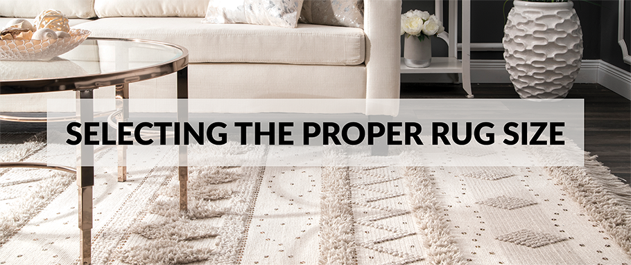 Choosing the Proper Rug Size: Rug Size, Shape & Colour