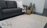 Essence Scandinavian Beige Felted Wool Rug