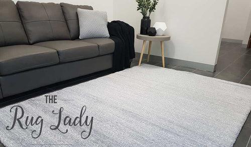 Contemporary Grey Stripe Rug