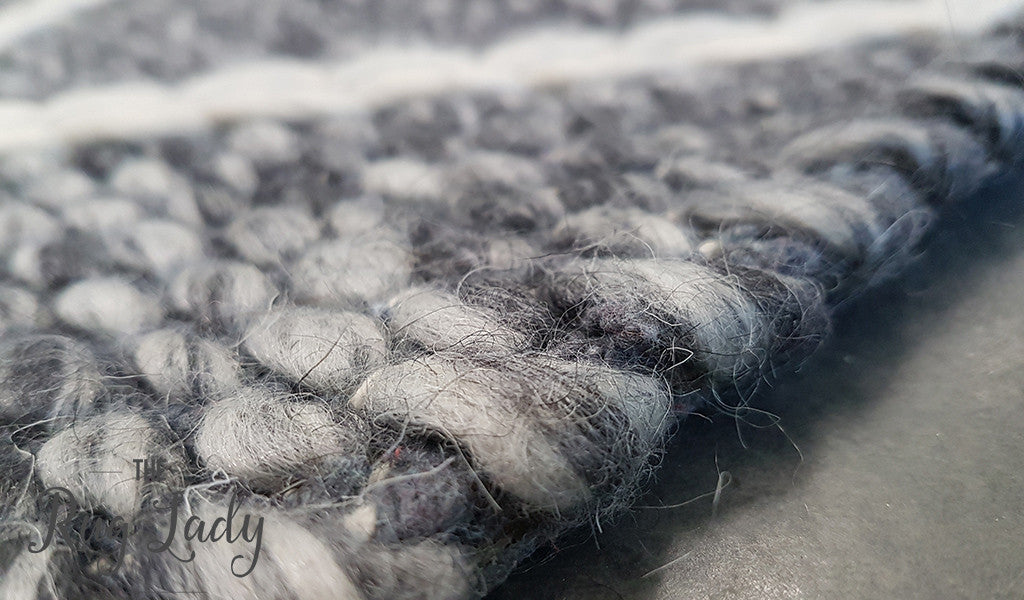 Essence Nordic Diamond Felted Wool Dark Grey
