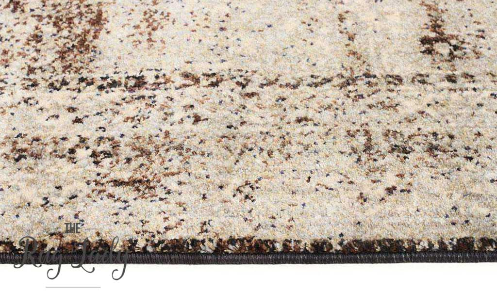Amelia Granite Medallion Abrash Transitional Rug