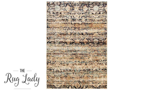 Amelia Multicoloured All-Over Abrash Transitional Rug