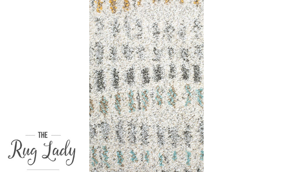 Aspire Multi Colour Pebbles Pattern Hallway Runner