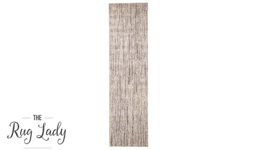 Aspire Grey Abstract Lines Hallway Runner