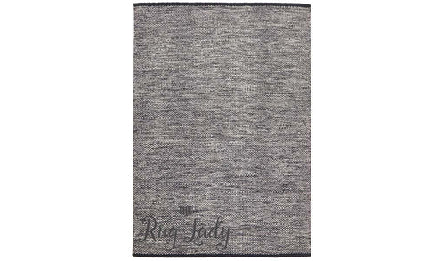 Argentina Black Natural White Rug