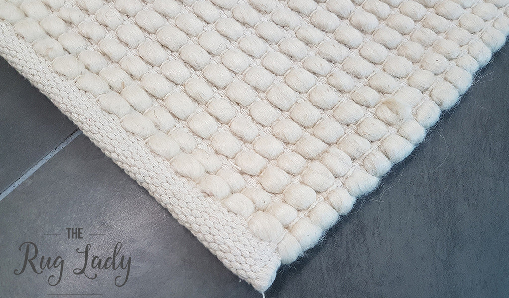 Darcy Natural Off White Felted Wool Rug The Rug Lady