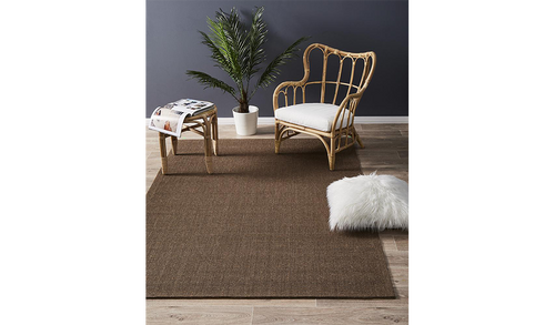Nature Sisal Brown Boucle Rug