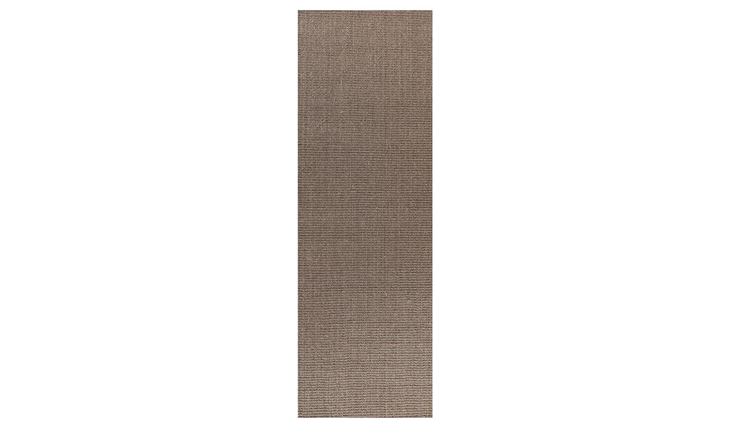 Nature Sisal Grey Boucle Hallway Runner Rug