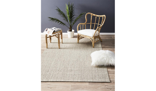 Nature Sisal Light Beige Boucle Rug