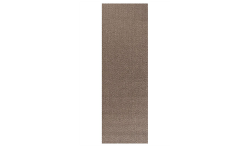 Nature Sisal Brown Herringbone Boucle Runner Rug
