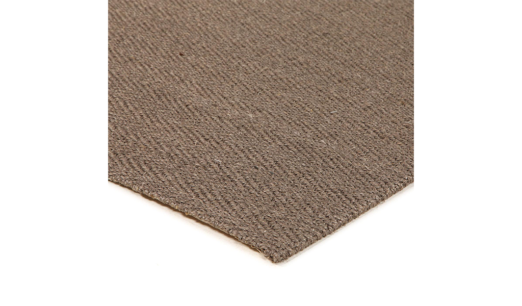 Nature Sisal Grey Herringbone Boucle Runner Rug