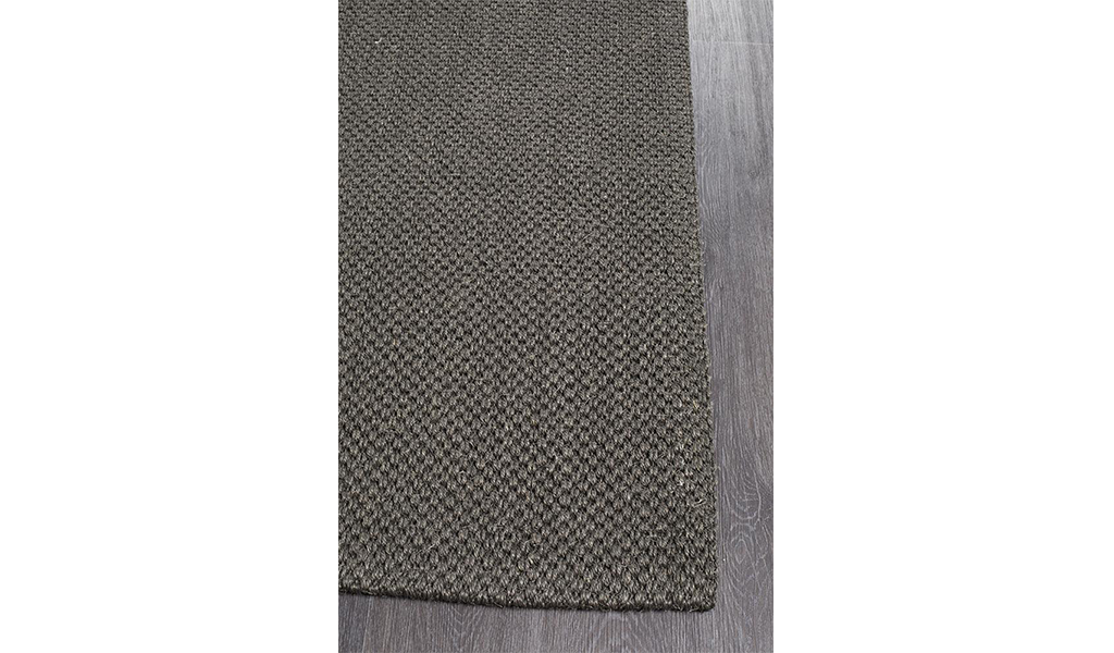 Nature Sisal Charcoal Tiger Eye Boucle Rug