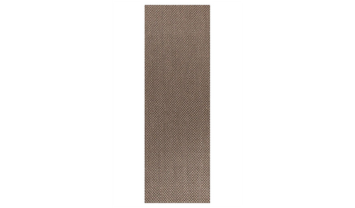 Nature Sisal Grey Tiger Eye Boucle Runner Rug