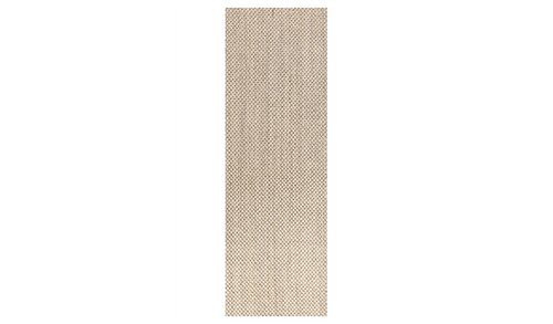 Nature Sisal Light Beige Tiger Eye Boucle Runner Rug