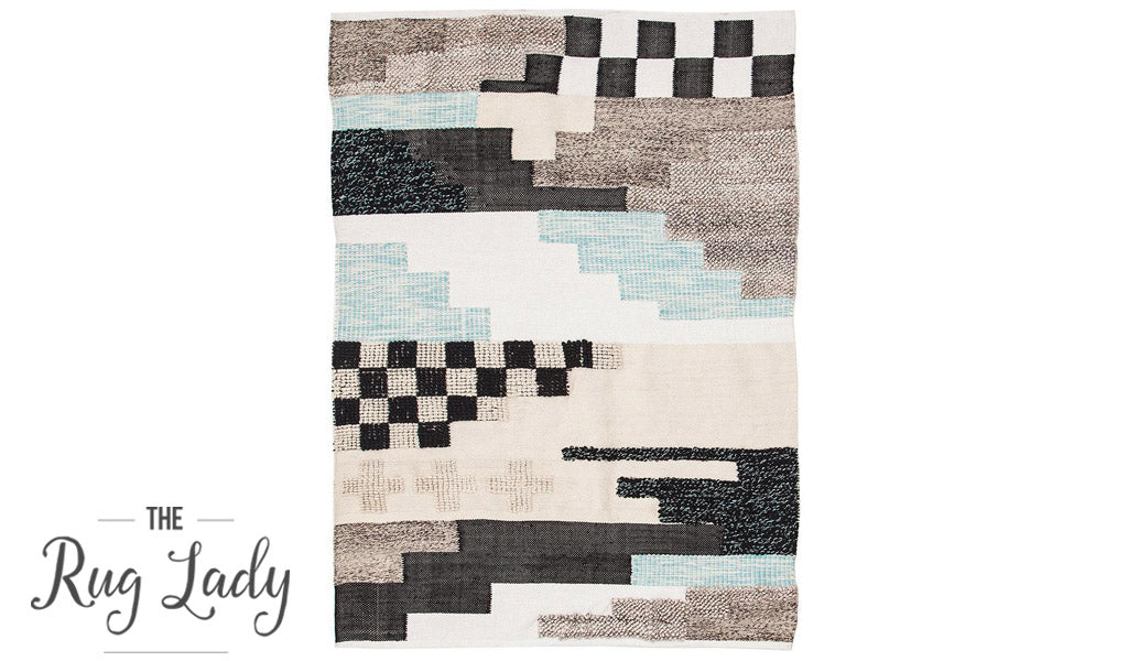Everly Native Multicoloured Textured Boho Rug