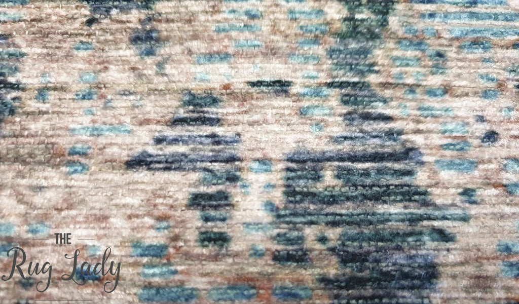 Spirit Multi-Coloured Abstract Distressed Rug