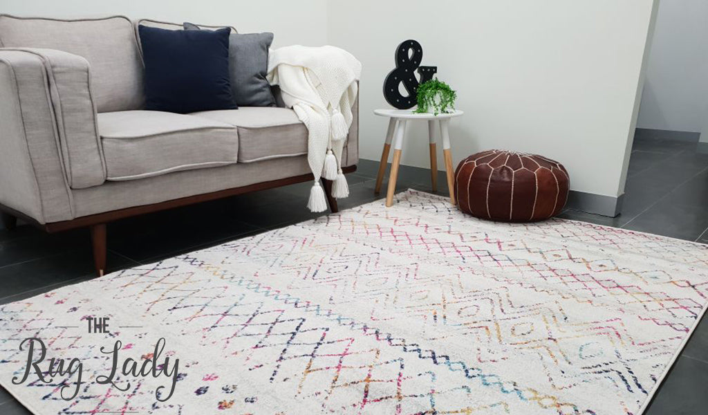 Heaven Multi Colour Tribal Pattern Rug