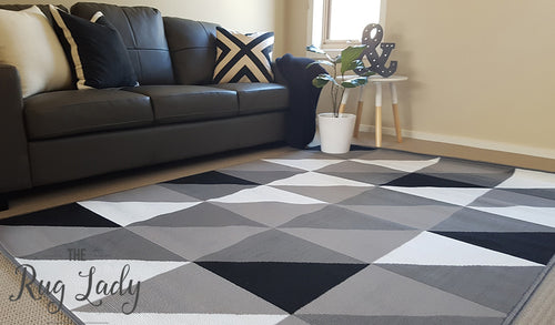 Industry Grey Black White Geometric Triangle