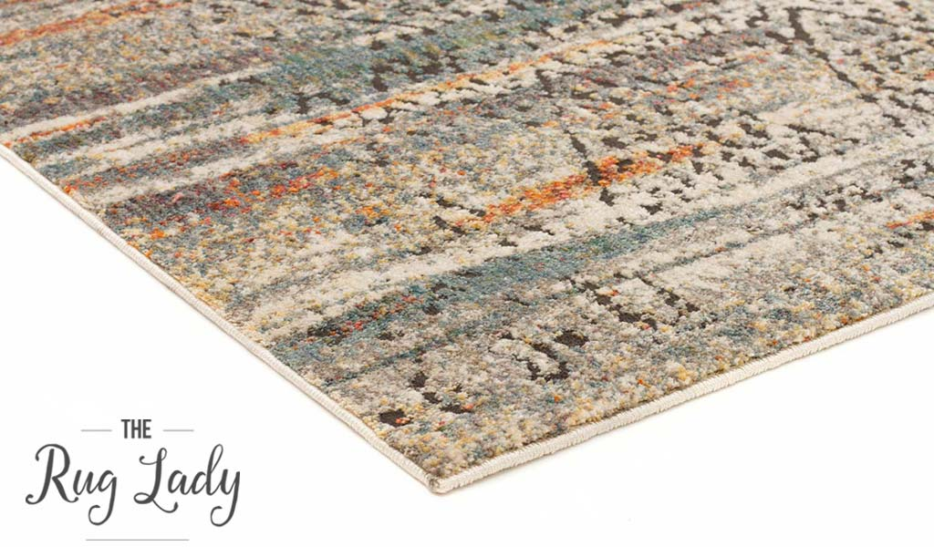 Bella Grey Tribal Distressed Vintage Rug