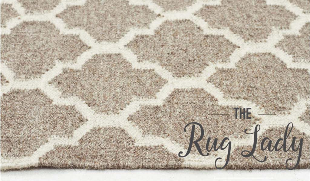 Natural Moroccan Wool Rug
