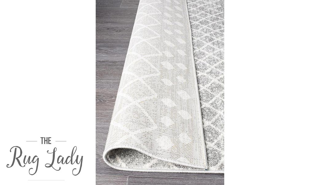 Heaven Grey Diamond Tribal Hallway Runner