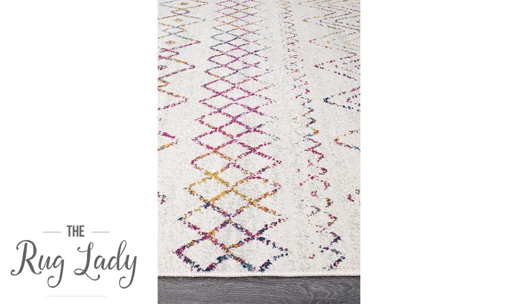 Heaven Multi Colour Tribal Pattern Hallway Runner