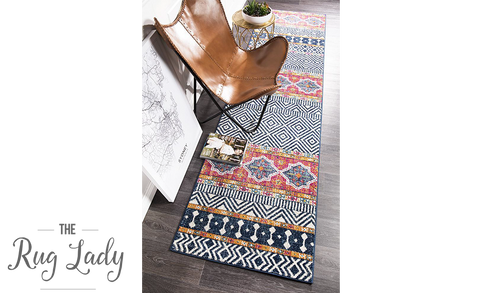 Heaven Multicoloured Tribal Bohemian Hallway Runner